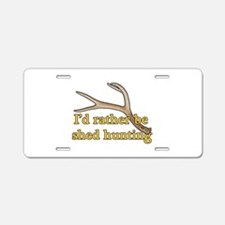 Shed hunter 1 Aluminum License Plate