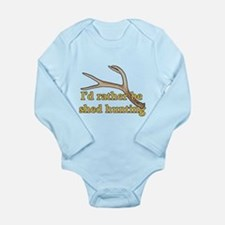Shed hunter 1 Long Sleeve Infant Bodysuit