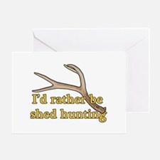 Shed hunter 1 Greeting Card