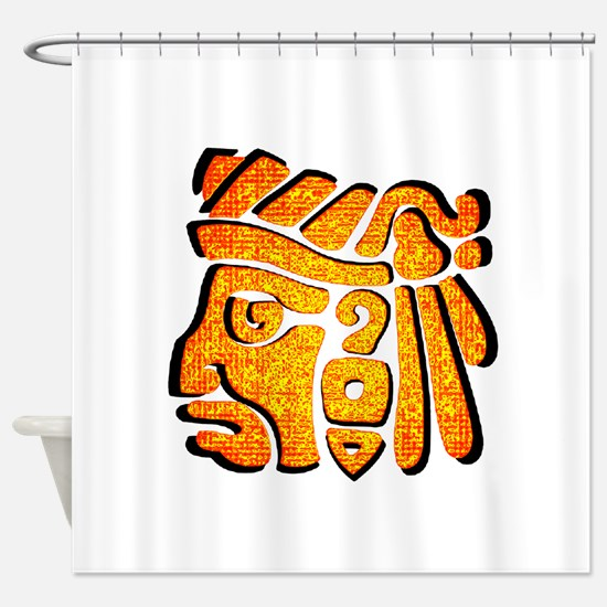 WARRIOR Shower Curtain
