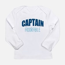 Captain Adorable Long Sleeve T-Shirt