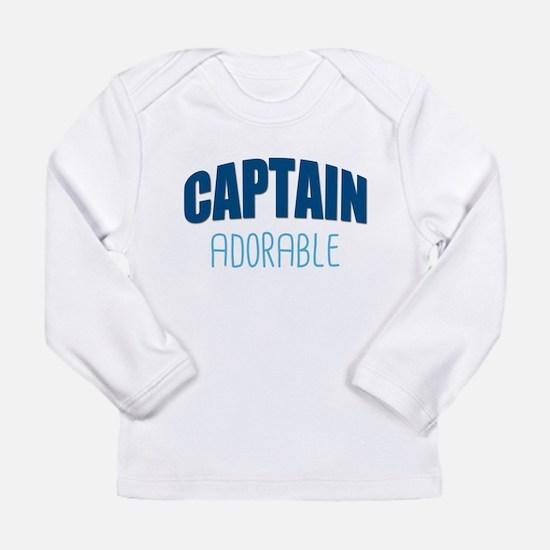 Captain Adorable Long Sleeve T-Shirt