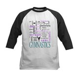 Gymnastics Baseball T-Shirt