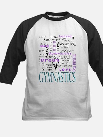 Gymnastics Love Baseball Jersey