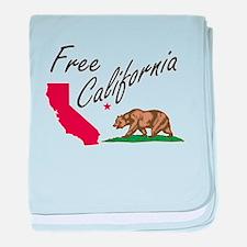 Free California CalExit baby blanket