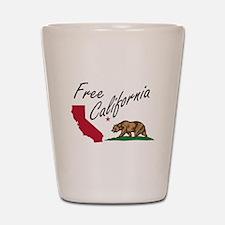 Free California CalExit Shot Glass