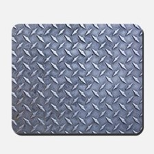 Steel Diamond Pattern Metal Grating Mousepad