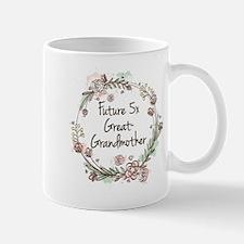 Future 5x Great-Grandmother Mugs