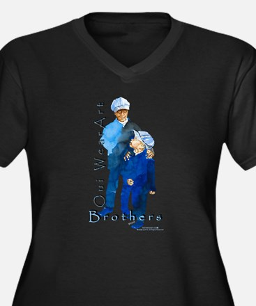 The Brothers Plus Size T-Shirt