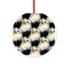 Bale Eagle Ornament (Round)