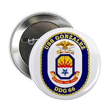 "USS Gonzalez DDG 66 2.25"" Button (10 pack)"