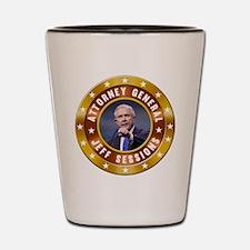 Jeff Sessions Shot Glass