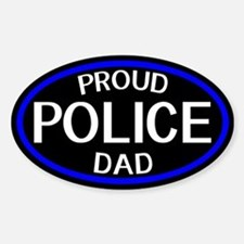 Police: Proud Dad (The Thin Blue Li Decal