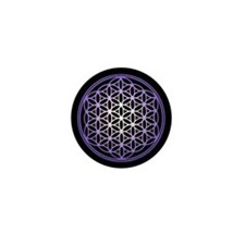 Flower of Life Mini Button
