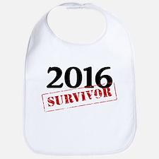 2016 Survivor Baby Bib