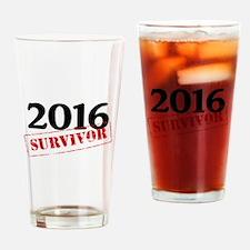 2016 Survivor Drinking Glass