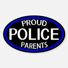 Police: Proud Parents (The Th Sticker (Oval 10 pk)