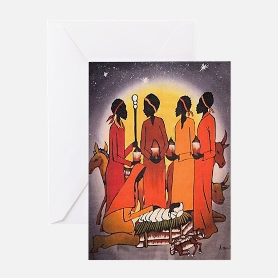 Funny African Greeting Card
