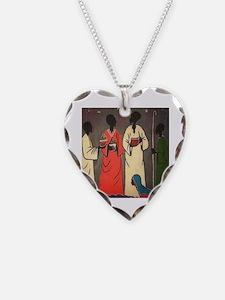 Unique Merry christmas Necklace Heart Charm