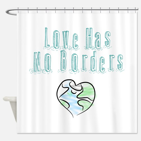 The Flow Of Love Shower Curtain