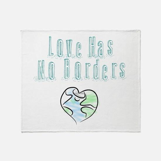 The Flow Of Love Throw Blanket