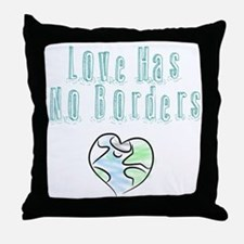 The Flow Of Love Throw Pillow
