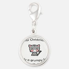 Grumpy Kitty for Christmas Charms