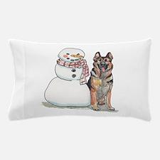 German Shepherd Christmas Pillow Case