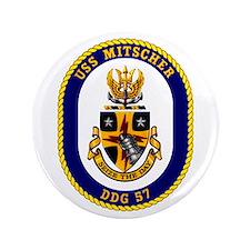 """USS Mitscher DDG 57 3.5"""" Button"""