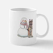 German Shepherd Christmas Mug