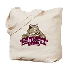 Lady Cougars Tote Bag