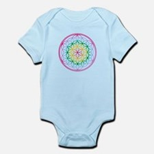Flower of Life - Rainbow Infant Bodysuit