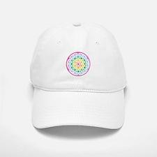 Flower of Life - Rainbow Baseball Baseball Cap