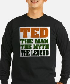 TED - The Legend Long Sleeve T-Shirt