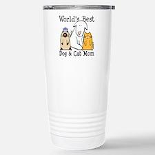 Cool Worlds best cheer mom Travel Mug