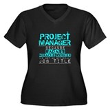 Project manager Plus Size