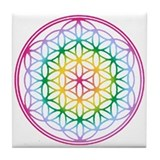 Sacred geometry flower of life Drink Coasters