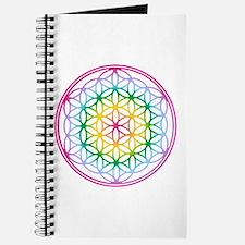 Flower of Life - Rainbow Journal