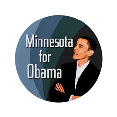 Minnesota for Obama Big Button
