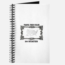 fun travel then color the states Journal