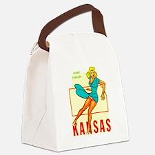 Kansas - Blond Tornado.png Canvas Lunch Bag