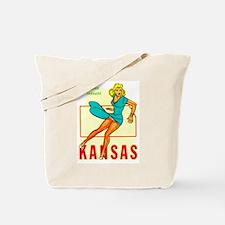 Kansas - Blond Tornado.png Tote Bag
