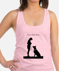 German Shepherd Silhouette Tank Top