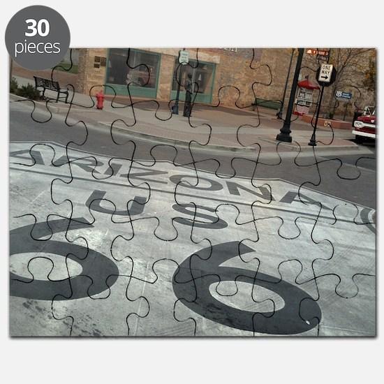 Cute Route 66 Puzzle