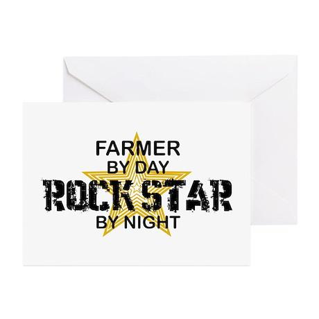 Farmer Rock Star Greeting Cards (Pk of 10)