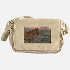 Memories of a WIld Land Messenger Bag