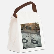 Funny Route 66 Canvas Lunch Bag