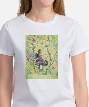 A Happy Place Flower Fairy and Ladybug T-Shirt