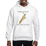 Changing The World Hooded Sweatshirt