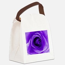 Unique Abstract Canvas Lunch Bag